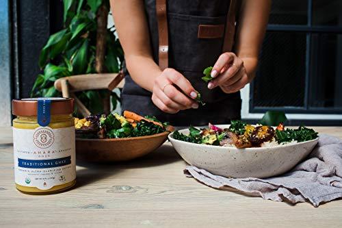 Ahara Rasa Organic Traditional Ghee 10oz, 100% Pure Grass Fed by Ahara Rasa (Image #5)