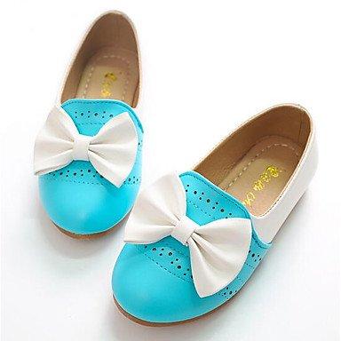 Wuyulunbi@ Zapatos De Niñas Pu Primavera Otoño Comodidad Flower Girl Zapatos Mocasines & Slip-