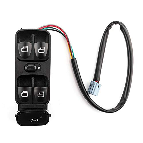 SUNROAD Electric Power Window Lifter Mirror Master Control Console Switch for Mercedes-Benz 2001-2005 C240 C320 & 2003-2007 C230 & 2006-2007 C280 C350 & 2002-2004 C32 AMG & & 2005-2006 C55 AMG