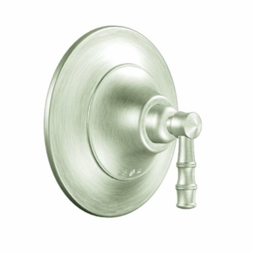 Moen Ts8810Bn Bamboo Posi-Temp R Tub/Shower Valve Only, Brushed Nickel
