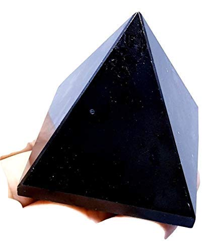 Grande Puro Tormalina Nera Piramide Reiki Addebitato Pietra Cristallo Protettivo un Scelto a Caso. (Tutte Diverse) Eclectic Shop Uk