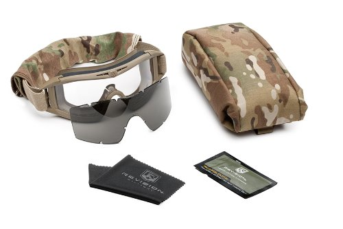 Revision Military Desert Locust Military Goggle System - Tan 499