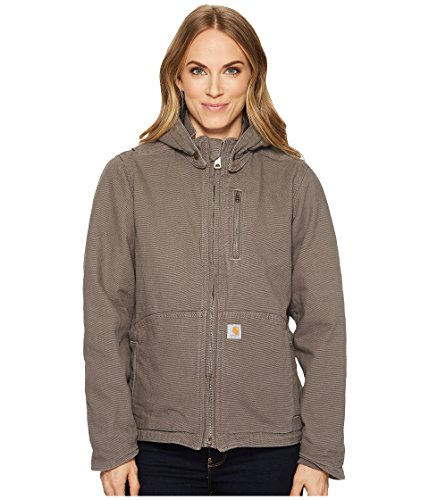 - Carhartt Women's Full Swing Caldwell Stretch Sandstone Jacket, Taupe Gray, Small