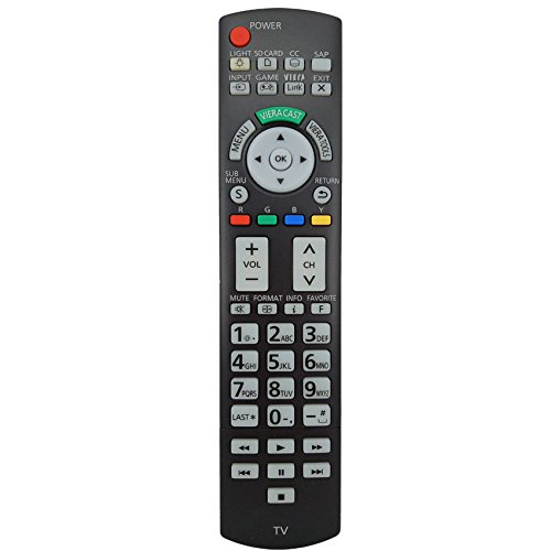 Universal Replacement Remote Control For Panasonic N2QAYB000