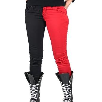 Blackred Split SkinnyMädels Ladies Leg Hosen Größe 34 vn0ywOmN8P