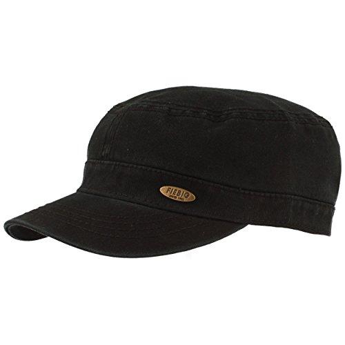 Clásica Gorra Militar | Gorra con visera | Gorra camuflaje | Protección UV 50 | Cierre de velcro ajustable | 100% Algodón | 3 colores diferentes | Unisex. Negro