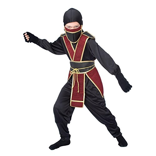 Totally Ghoul Samurai Ninja Halloween Costume NWT Boys Medium]()