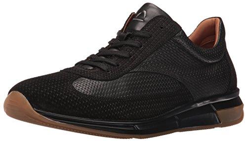 Aquatalia Mens Zander Fashion Sneaker Nero