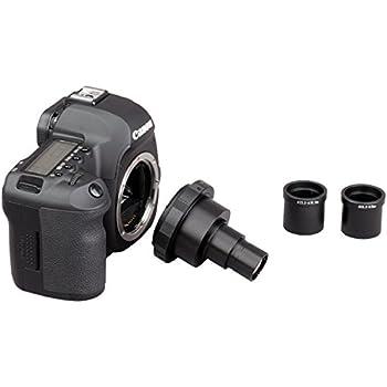 AmScope CA-CAN-NIK-OLY-SLR Canon and Nikon SLR / DSLR Microscope Camera Adapter