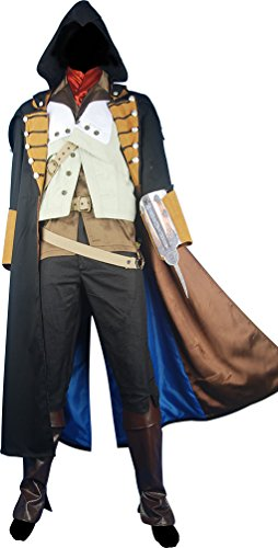 Men's AC Unity Arno Dorian Hoodie Outfit Anime Costume
