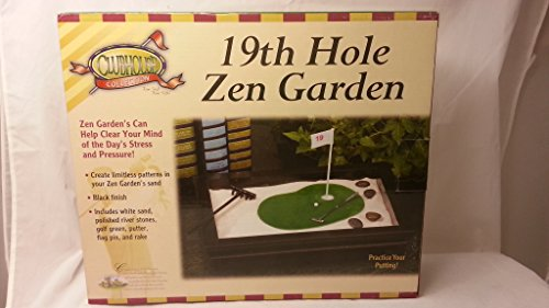 Clubhouse Collection 19th Hole Golf Zen Garden, Black