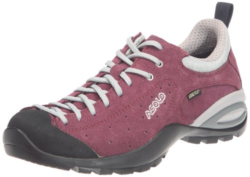 Asolo - Zapatillas de montaña de cuero para mujer Morado