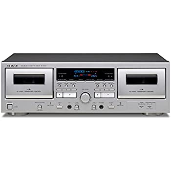 TEAC Double Cassette Deck W-1200 (SILVER)【Japan Domestic genuine products】 【Ships from JAPAN】