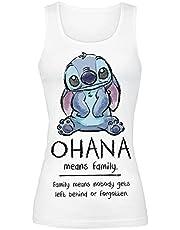 Lilo & Stitch Ohana Means Family Top wit Disney, Fan merch, Film