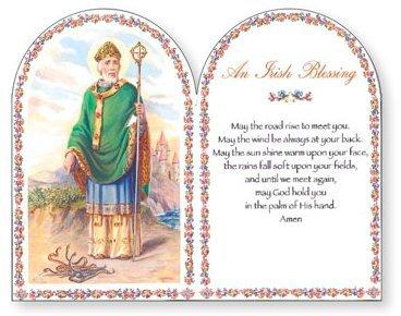 Irish Blessings - Irish Blessing Lazer Cut Wooden Plaque - Saint Patrick Day Gifts