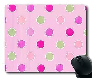 Rectangle mouse pad Diy Design Delightful Pink Princess Baby Shower