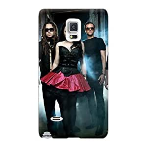 Anti-Scratch Hard Phone Case For Samsung Galaxy Note 4 (HwN29579nZPU) Support Personal Customs Attractive Music Evanescence Pattern