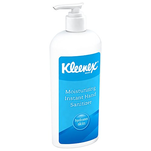 Kleenex Moisturizing Instant Hand Sanitizer (31294), No Rinse, 12 8 oz. Bottles / Case (No Rinse Hand Sanitizer)