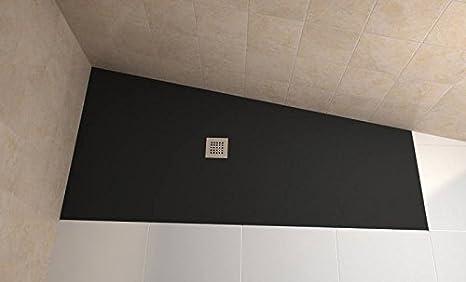 Bodengleiche duschwanne 90x120  bodengleiche Dusche 120x90 Mineralguss - begehbare Dusche 90x120 ...