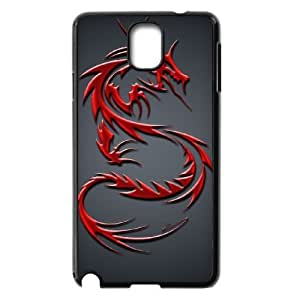 lintao diy Case Of Red Dragon customized Bumper Plastic case For samsung galaxy note 3 N9000