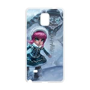 Samsung Galaxy Note 4 Phone Case Cover White League of Legends Frostfire Annie EUA15979104 Phone Case Unique Custom