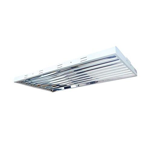 Hydro Crunch T5 FLUORESCENT 4FT 8 LAMP GROW LIGHT SYSTEM