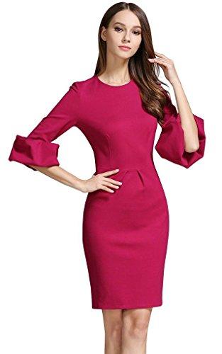 Vestito opaco buenos Rosy Donna 4 ninos 3 a Maniche PvR5pRqw