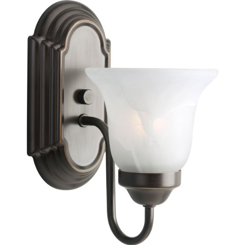 Progress Lighting P3051-20 1-Light Bath Bracket, Antique ()
