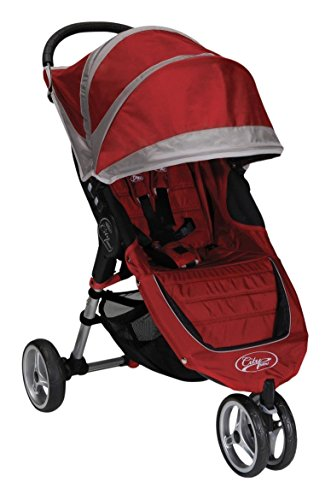 Baby Jogger 2012 City Mini Single Stroller, Crimson/Gray