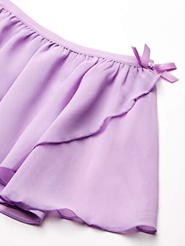 Amazon Essentials Girls' Dance Faux-wrap Skirt