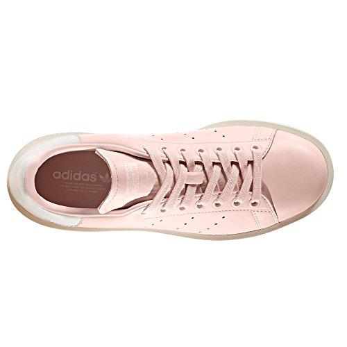 Rosas Pink para con Adidas W Stan Negras Mujer Plataforma y Zapatillas Bold Smith Icey xqOwAgwFza