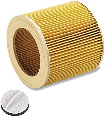 Cartuchos de filtro para aspiradora Kärcher WD 2500 M, WD 3200 AF como 6.414-552.0.: Amazon.es: Grandes electrodomésticos