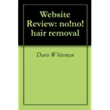 Website Review: no!no! hair removal