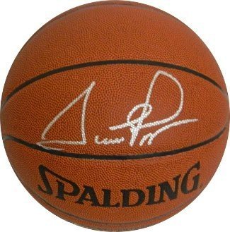 Scottie Pippen Signed Autograph Indoor/Outdoor TB Basketball - Chicago Bulls-silver Signature- JSA Authentication