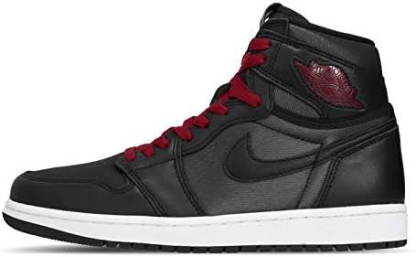 [ナイキ] エアジョーダン 1 レトロ ハイ OG メンズ バスケットボール シューズ Air Jordan 1 Retro High OG Black Satin Gym Red 555088-060 [並行輸入品]