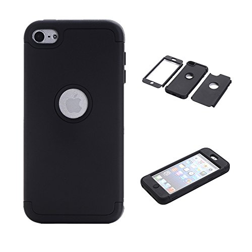 iPod Touch 6 Case,iPod Touch 5 Case, VPR 3 in 1 Shock Absorb