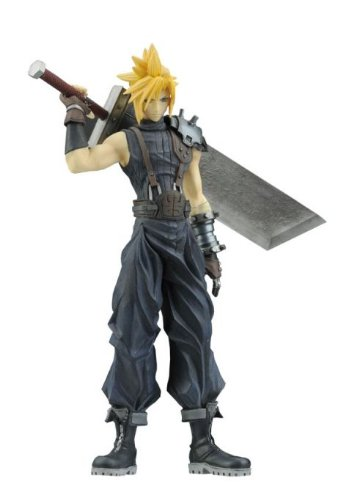 Cloud Strife Trading Arts - Final Fantasy Dissidia Trading Arts Series 1 Deluxe PVC Figure Cloud Strife