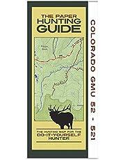 Colorado GMU's 52-521 Hunting Map