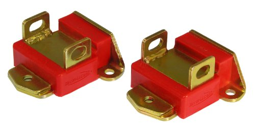Prothane 7-504 Red Motor Mount Kit (Prothane Motor Mounts)