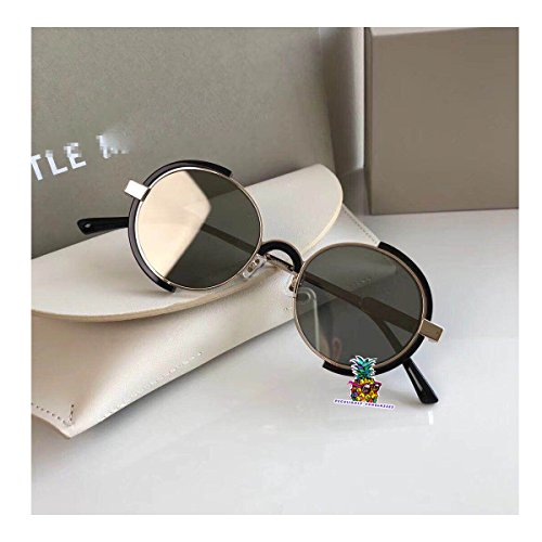 Fashion Vintage Unisex Cateye Frame New Gentle man Women Monster divinity Moooi Sunglasses - silver leg silver Km8wLRR9eJ