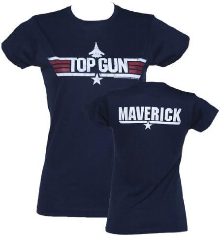 top gun t shirt damen