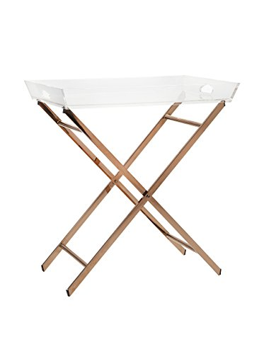 Imax 13209 Clinton Acrylic Tray Table