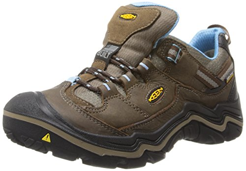 Keen Durand WP - Zapatos de Low Rise Senderismo Mujer Marrón - Braun (DARK EARTH/ALASKAN BLUE)