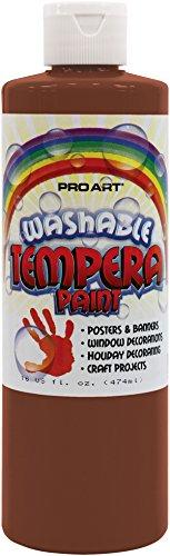 Pro Art Liquid Washable Tempera Paint, 16-Ounce, - Liquid Washable Tempera