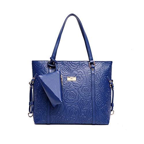 E Nuovo Elegante Per Femminile Blue Tote Di Bag spalla Wwave Comodo One Borse Donna qvg5W5Rxt