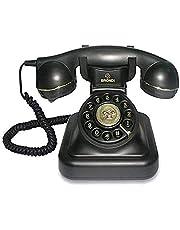 Tiptel Vintage Telefoon 20, Zwart