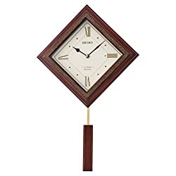 Seiko QXM335BLH Wall Japanese Quartz Wall Clock