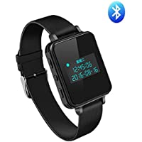 Dazhong Digital Voice Recorder ,Professional 16G Wristband,Watch Bluetooth 4.0 Recorder Portable Multi-functional Noise Reduction for Class Sports Lectures Meetings Interviews (16G-Black)
