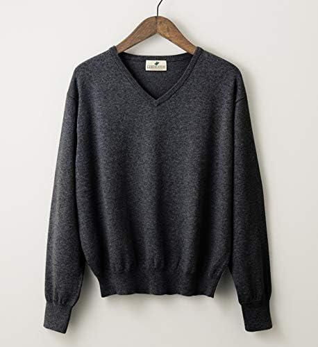 (リベレートン) ストレッチセーター 黒、紺、グレー、チャコールグレー(XM~XLサイズ) PN-001