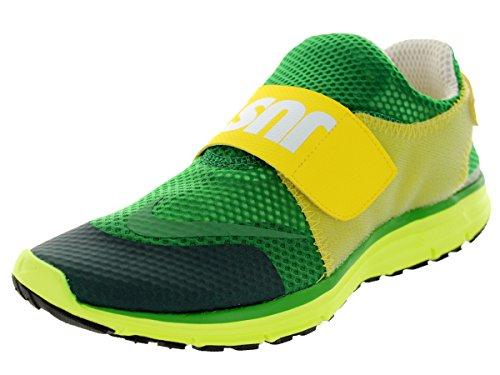 Nike Men's Lunarfly 306 Pine Green/White/Tr Yellow/Vlt Running Shoe 9.5 Men US